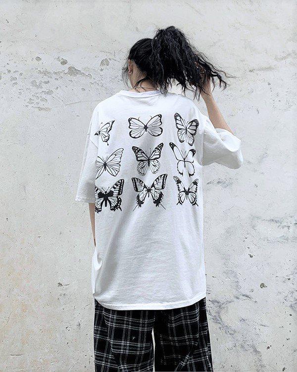 《2色》バタフライ13Tシャツの画像5
